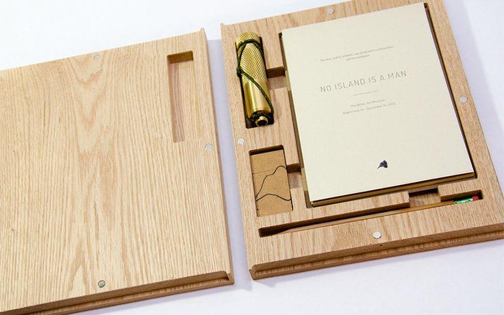 No Island is a Man Exhibition Kit      PRODUCTION METHOD  Digital    DESIGN  Edwin Carter      PRINTING  University Lithoprinters