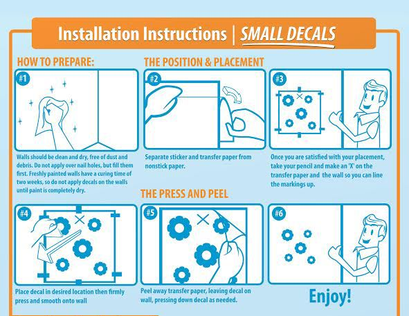 6 Steps To Successfully Apply Your Small Decals