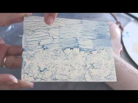 Craquelado casero - Diferentes técnicas/ Home- made Crackle