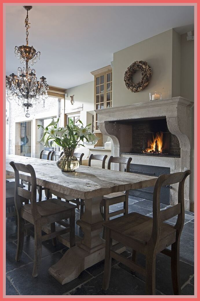 64 Reference Of Dining Room With Fireplace Decorating Ideas In 2020 Rustic Dining Room Dining Room Decor Rustic Dining Room Fireplace