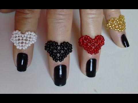 Anel mini coração de miçangas ♡ Joana D'arc - YouTube