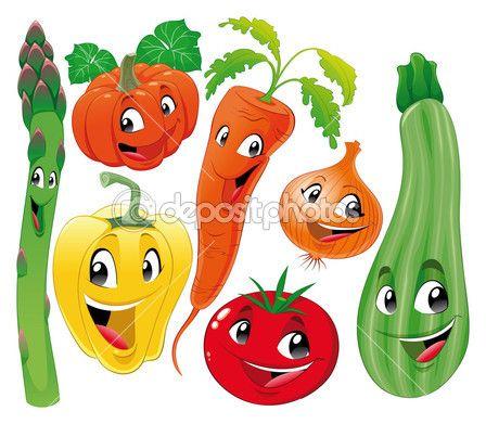 Vegetable family. — Vecteur