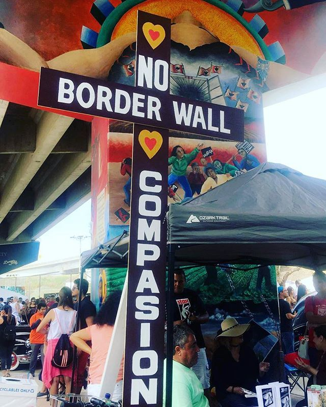 No Compassion Border Wall  #chicanopark2017 #sandiego #barriologan #chicanoparkday #nocompassion #no #borderwall #barriologan #cpb #twenfyseventeen #like4follow #likemyrecent #followforfollowback #followtrain #likelikelikelikelikelikelikelikelikelikelikelikelikelikelikelikelikelikelikelikelikelikelikelikelikelikelikelikelikelikelikelikelikelikelikelikelikeli #sandiego #sandiegoconnection #sdlocals #sandiegolocals - posted by Veronica Gonzalez https://www.instagram.com/vloovee. See more post…