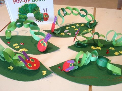 日本語DE工作クラスは「はらぺこあおむし」とちょうちょさん の画像 Children's Discovery Place幼児教室~Make, Play and Learn~