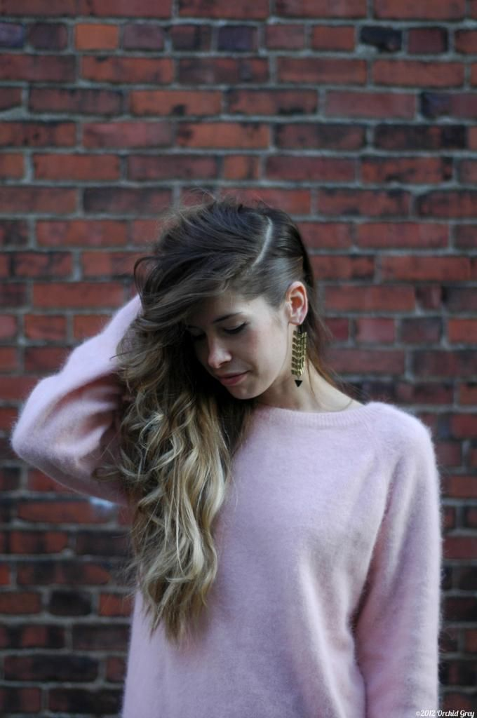 Faux undercut inspired by Tracy Reese, Rachel Antonoff SS2013 presentations. I want to try this.