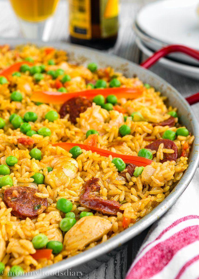 ... Seafood Paella Recipe on Pinterest | Seafood Paella Recipe, Paella