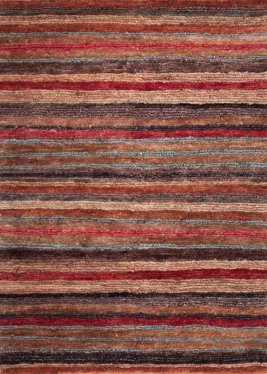 Jute Kav Baz Multi Red - Bazhars Alfombras Chile ®