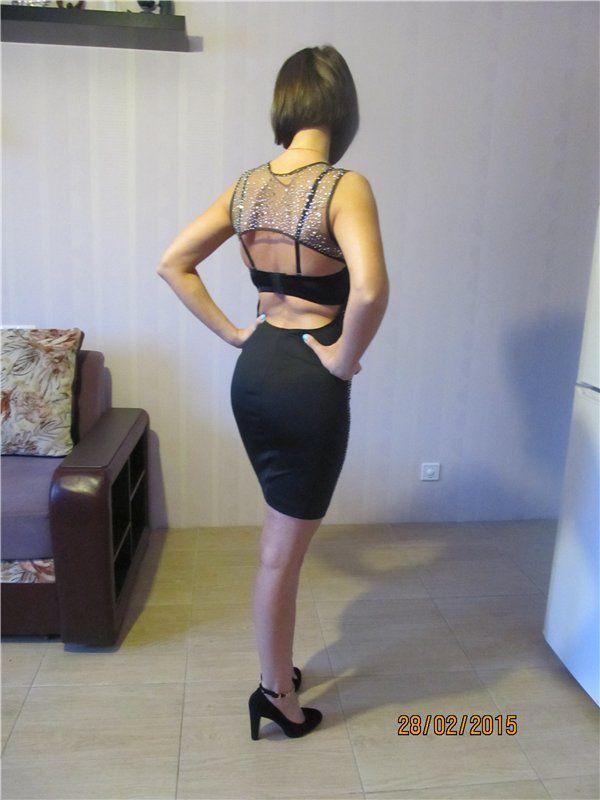 сексуальная девушка в платье Upyourpic.org - залить картинку на радикал