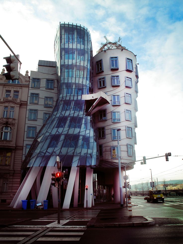 Dancing Building, Prague, 2011