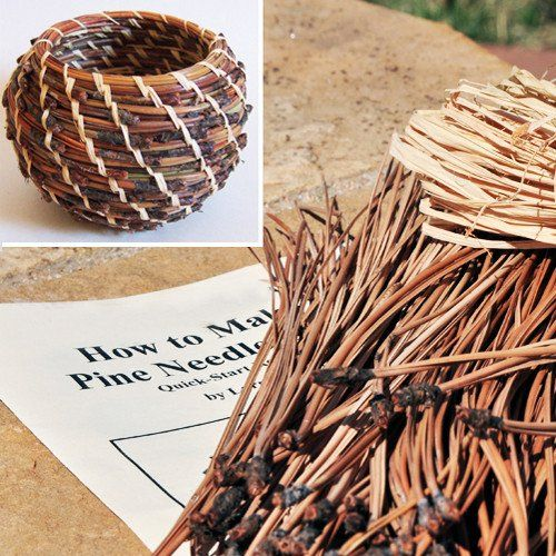 Wood Basket Weaving Supplies : Best pineneedles and sweetgrass crafts images on