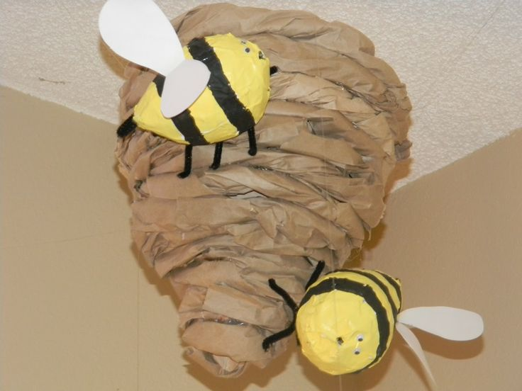 Pin by mrs cossette on may pinterest bees bee theme for Plastic bees for crafts