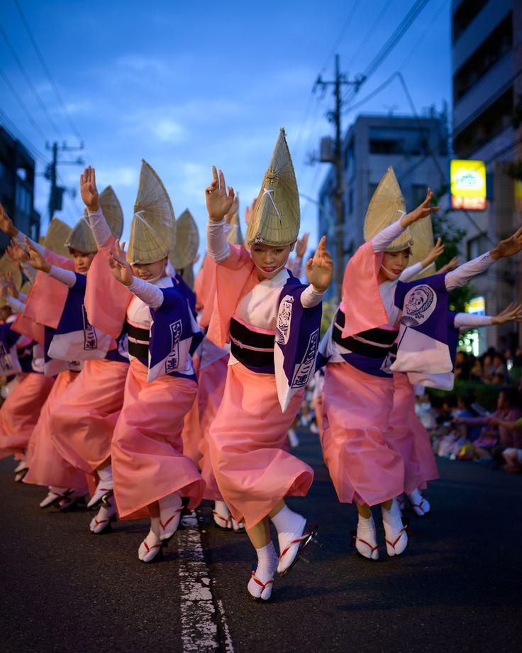 Awa Odori Dance in Koenji, Tokyo, Japan © Jason Arney 高円寺阿波おどり