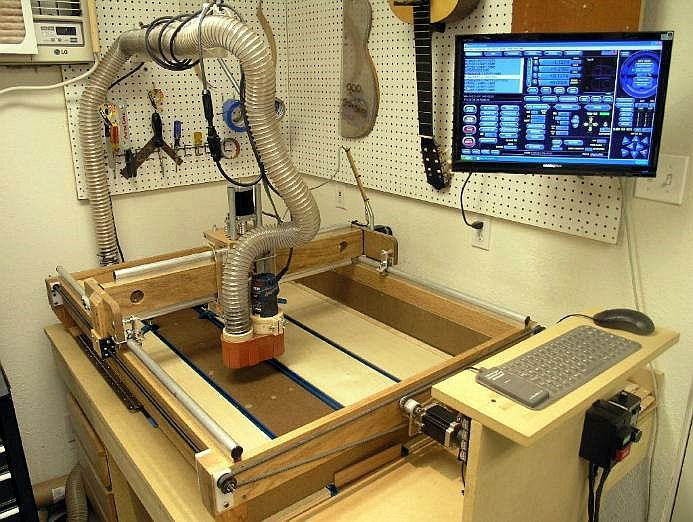 Guitarra do Nite Owl CNC Router | Woodworking (Workshop) Ideas & Inspiration | Cnc router table ...