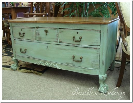 Painting furniture... I wondered on how to do this yesterday after seeing a piece at homegoods that I loved! I'm going to try this!!! =)