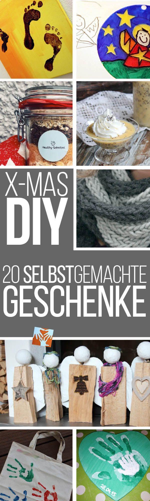 20 kinderleichte selbstgemachte Geschenksideen für Weihnachten, DIY