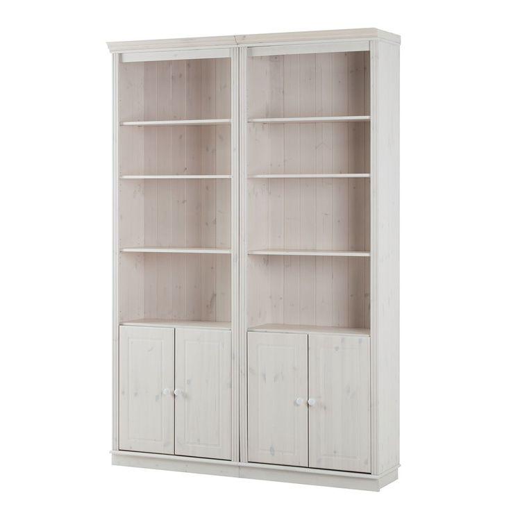 Best 25+ Regalwand Weiß Ideas On Pinterest | Ikea Regal Weiß ... Wohnzimmer Kiefer Weis