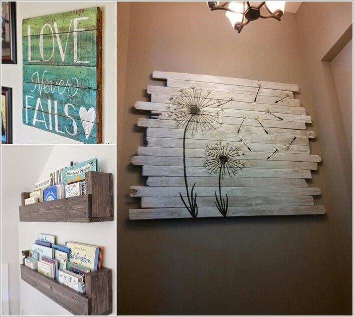 13 Cool Home Decor Projects to Make from Fence Wood a