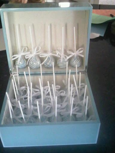 Cake Pop Box Display
