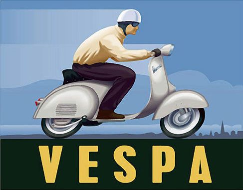Vespa Amsterdam   Lifestyle   Scooters, Accessoires, Customizing ...