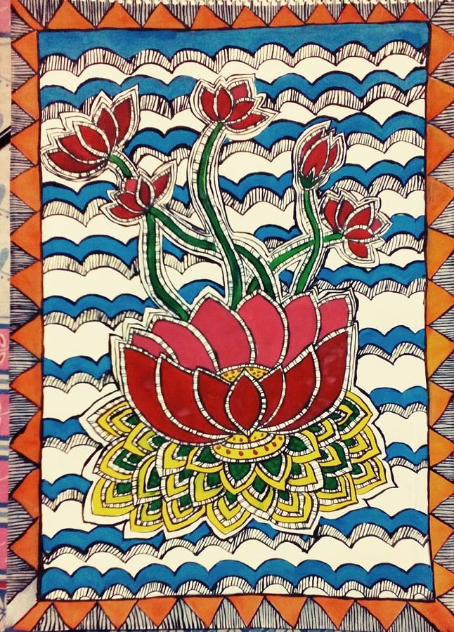 Kamalasan Painting