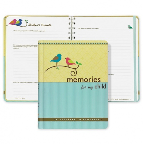 'Memories for My Child' - an easy way to journal special moments,