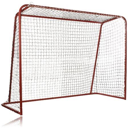 Innebandymål med officiella mått, REVOLUTION FB FULL SIZE GOAL. Mer info om innebandymålet http://www.stadium.se/sport/lek-spel/sommarlek/081574/revolution-fb-full-size-goal