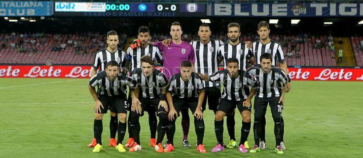 Νάπολι - ΠΑΟΚ Φιλικό παιχνίδι προετοιμασίας 2014/15