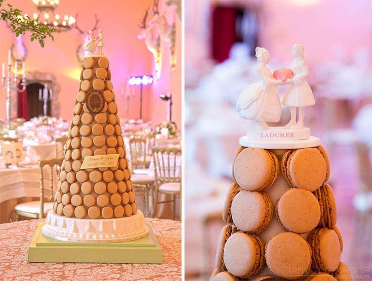 Wedding cake from Ladurée!