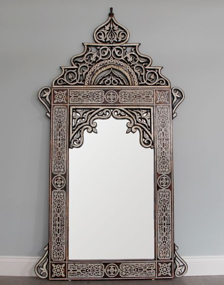Moroccan Mirror- wow stunning! I want!