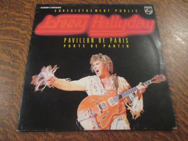 album 2 33 tours johnny hallyday enregistrement public au pavillon de paris | eBay