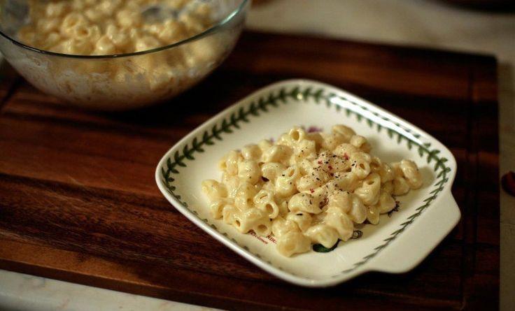 """Макароны с сыром по особому простому рецепту, с соусом """"Бешамель"""""""