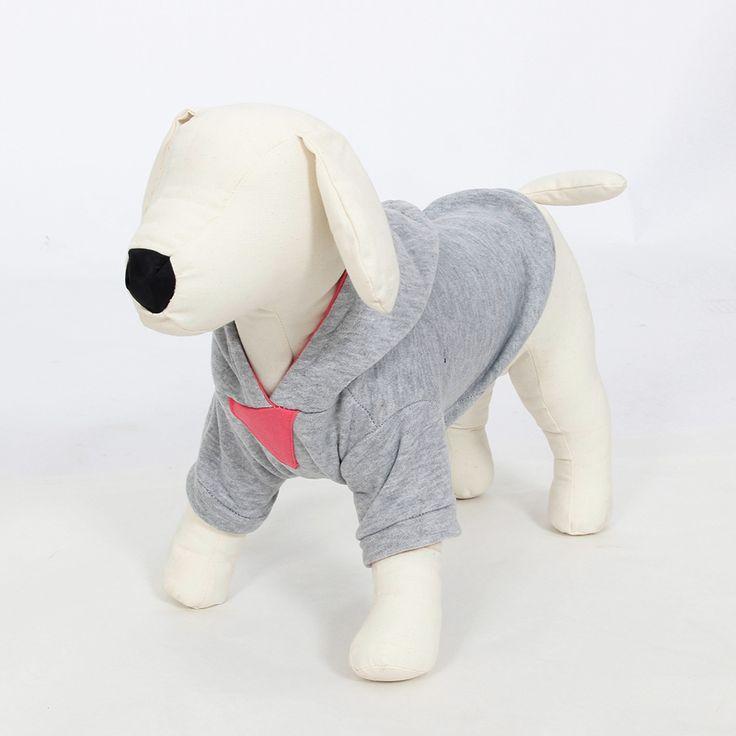 Одежда для собак Pet Одежда Собак Руно Зима Теплая Толстовка С Капюшоном Спорт Pet Одежда Размер XS, S, M, L свитер Товары для Животных Щенок Одежда