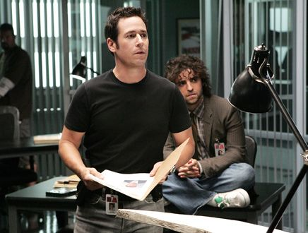 Don Eppes (Rob Morrow) Numb3rs <- Charlie looks like a hobo, sitting in the corner. XD