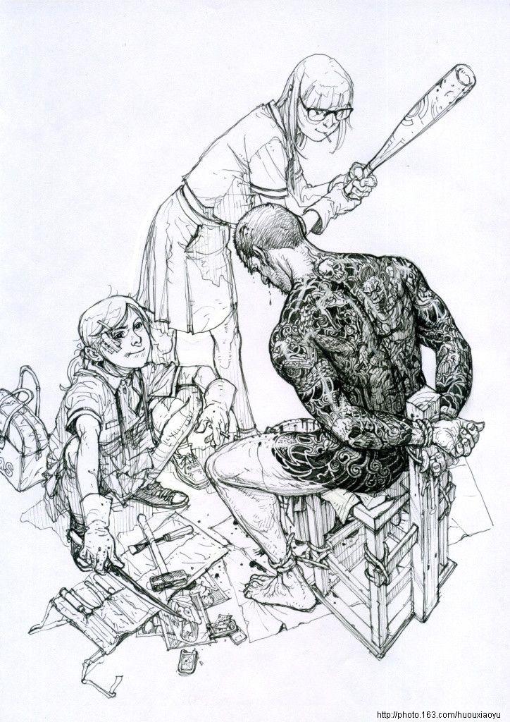 2011 Sketchbook – Kim Jung Gi US