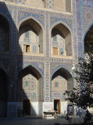 Ouzbékistan - Samarcande : le Registan - Lankaart