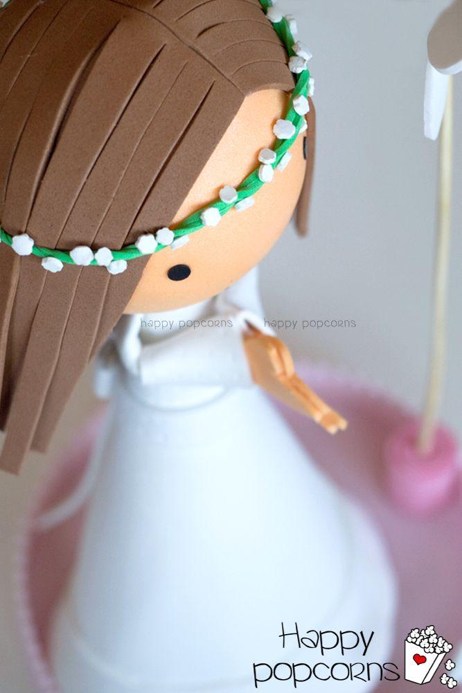 fofucha comunión personalizada #muñeca #comunión #fofucha #fofucha