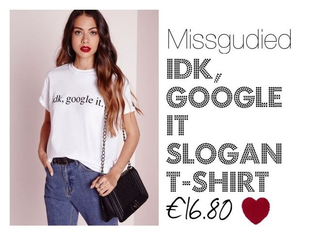 Slogan T by shannagh-harte on Polyvore