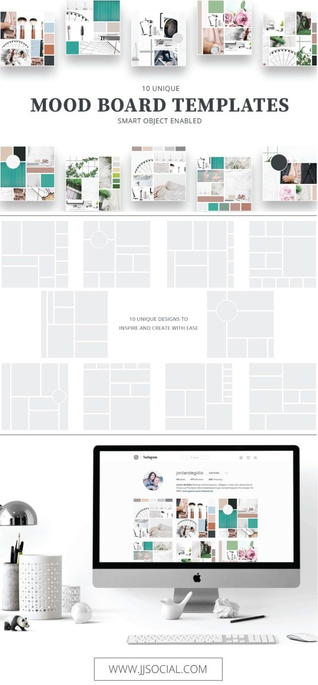 Mood Board Templates. Interior Design PortfoliosInterior Design  WebsitesInterior ...
