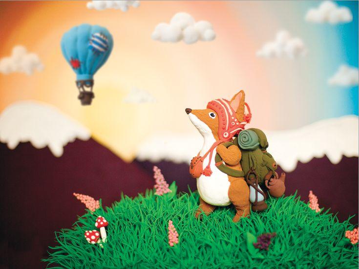 Fox's journay by Yalike