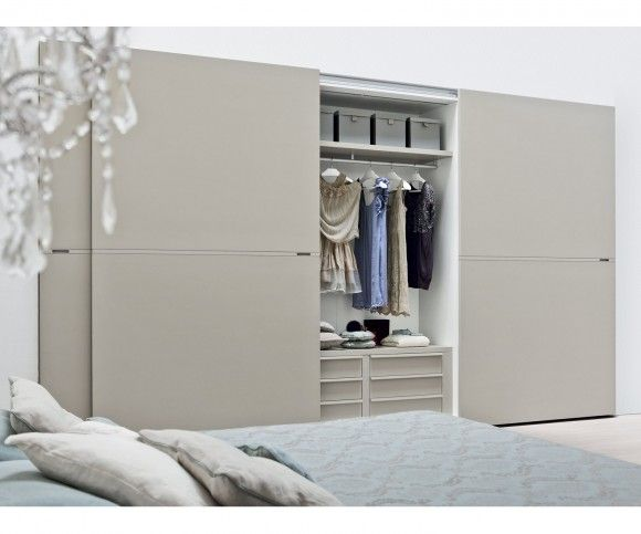 Wohnideen: Novamobili Kleiderschrank Middle Schiebetüren