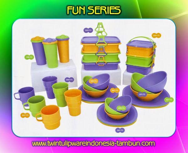 FUN SERIES - Produk #Tulipware Terbaru 2014
