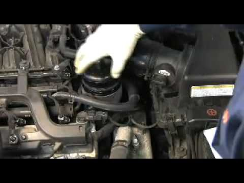 HYUNDAI REPAIR : Change oil and filter in engine Hyundai Sonata NF. Video for replacing oil with their own hands.