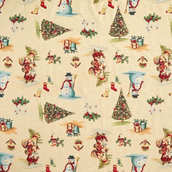 Gobelin decorative fabric Christmas | Fabric decor ...