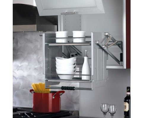 Pull Down Shelf For 24 Quot Wall Cabinets Specialty Storage