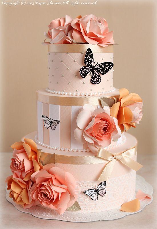 Maeda Kyoko Paper Flower Cake