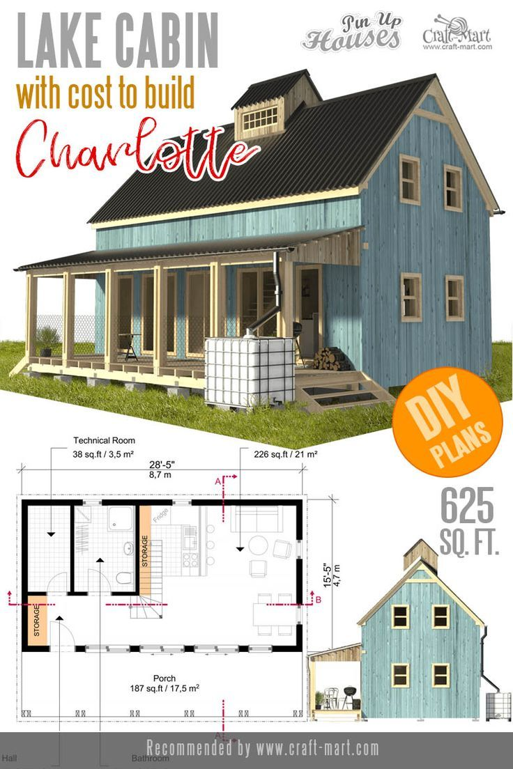 Awesome Small And Tiny Home Plans For Low Diy Budget Craft Mart House Plans Small Cabin Plans Tiny House Plans