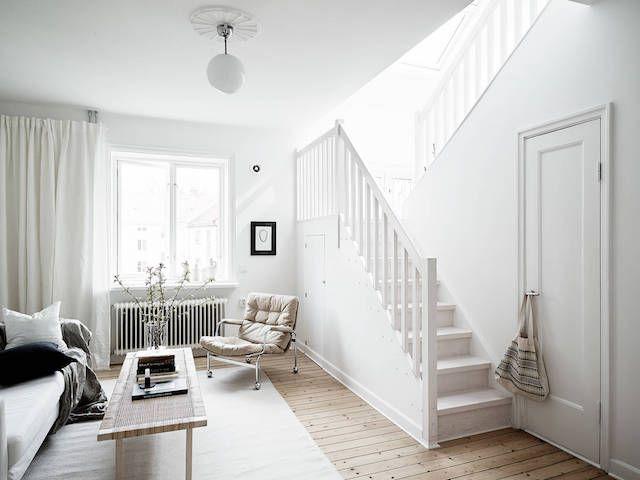 The clean, calm Swedish home