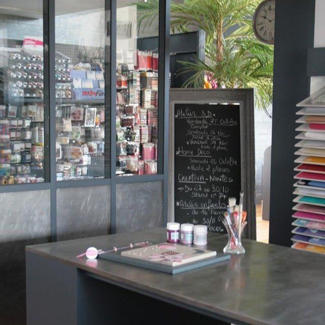 #Magasin Déco Avenue à côté de #Nantes / un nouvel article sur le blog de l'Atelier de la Libellule à Lunettes / #Déco / Loisirs créatifs / #Fournitures / #Tissu / #Mercerie / #atelierdelalibellulealunettes
