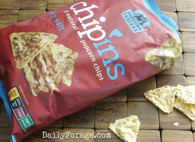 Chip'ins All Natural Popcorn Chips ... Popcorn in a Chip? You Bet! See how we like to enjoy them.
