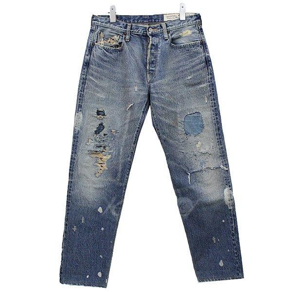 KAPITAL キャピタル リペア加工デニムパンツ キャピタル - メンズ&レディースのブランド古着通販|カインドオンライン